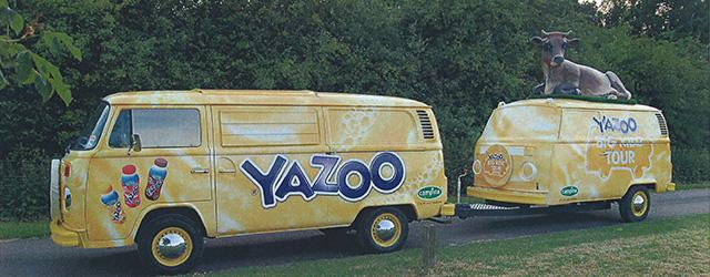 Experiential Marketing On Custom VW Camper Van and Trailer