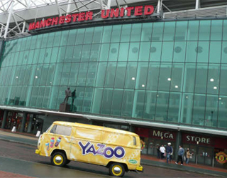 Custom VW Camper at Manchester United Football Ground