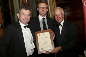 Chris Collis wins Marketing award