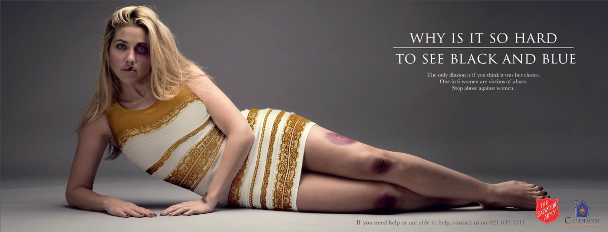 Salvation Army advert against Domestic Violence. © Ireland Davenport 2015