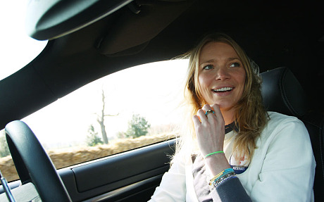 Petrol Head Jodie Kidd copyright unknown/ Telegraph