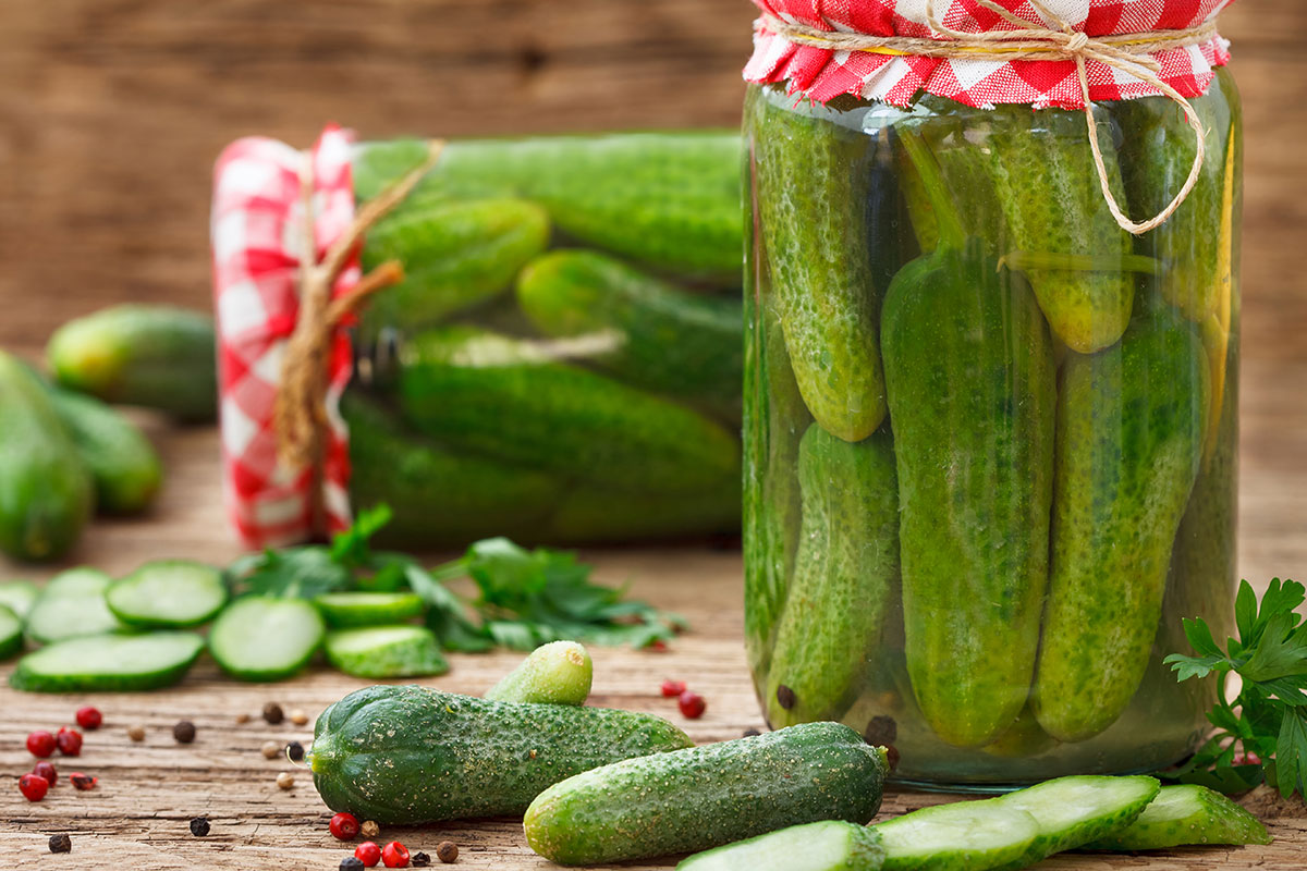 Phot of Pickle Jars © Shutterstock